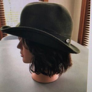Bailey of Hollywood Olive green Cashmere blend Hat